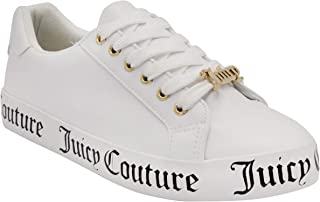 Juicy Couture Women Fashion Sneaker Womens Casual Shoes Platform Tennis Shoes All White, Chunky Sneakers, Walking Shoes