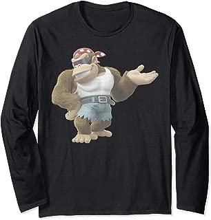 Nintendo Donkey Kong Country Funky Kong Simple Long Sleeve T-Shirt