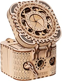 ROKR Puzzle Box 3D Wooden Puzzle Model Kits for Adults