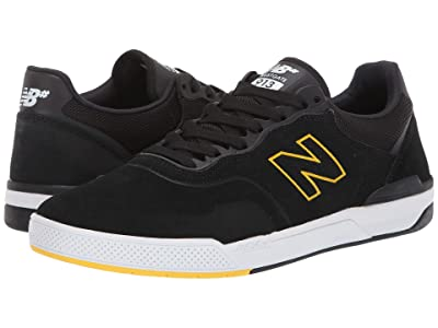 New Balance Numeric 913 (Black/Yellow) Skate Shoes