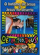 DVD O Exército de Deus vol 16 O Batismo de Jesus & Jesus no Deserto