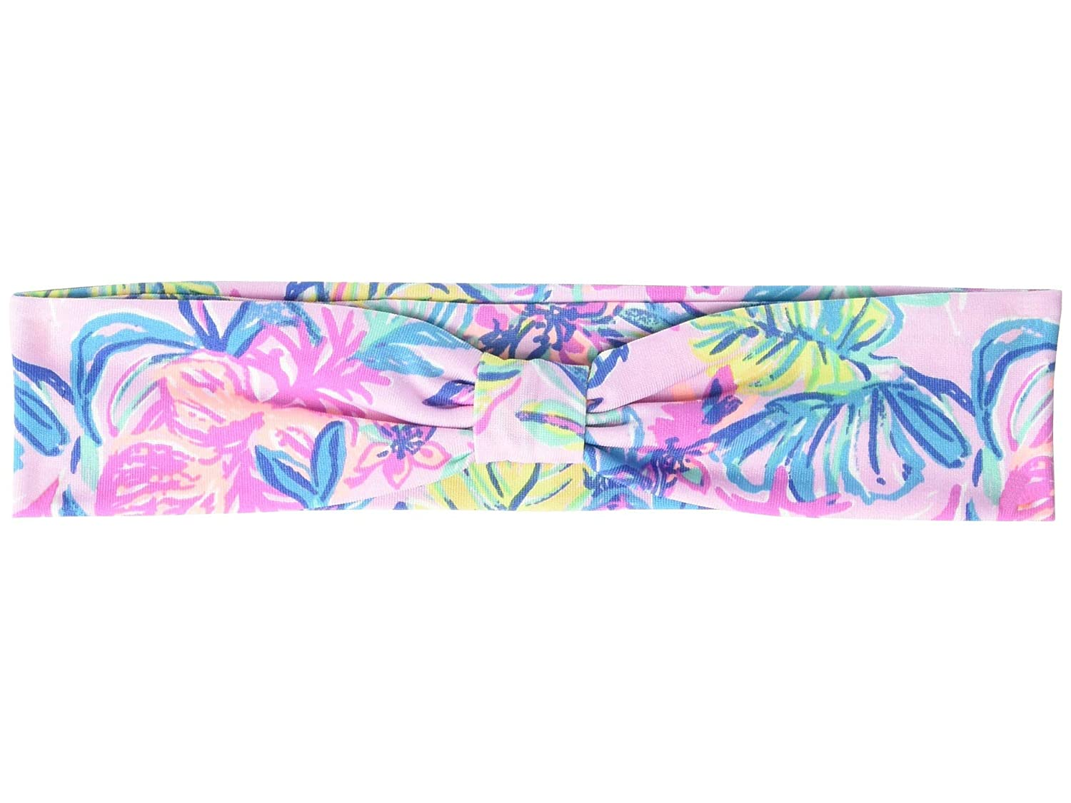 Lilly Pulitzer Pink/Blue Women's Cute Knotted Headband, Mermaid in the Shade