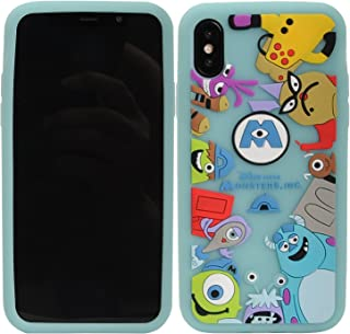 Case for iPhone X XS, Phenix-Color 3D Cute Cartoon Soft Silicone Hello Kitty Gel Back Cover Case for iPhone X XS Case Amp Prime(No.39)
