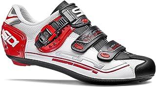 SIDI(シディ) Genius 7(ジェニウス7) ロードサイクリングシューズ - White/Black/Red(ホワイト/ブラック/レッド) [並行輸入品]