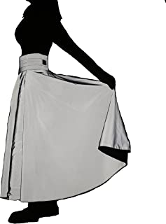 Sponsored Ad - Rainproof safe equestrian skirt | Reflective equestrian skirt for women | Glow-in-the-dark riding gear (XL-...