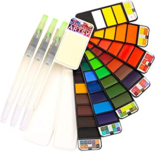 watercolor paint pan sets