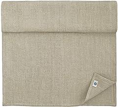 Linen & Cotton - Camino de Mesa de Tela RUSTICO,100% Lino Natural y Lavado a la Piedra (44 x 180cm, Beige)