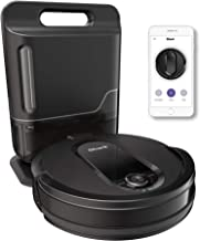 Shark IQ Robot Vacuum with Self-Empty Base and Wi-Fi Home Mapping, with XL Capacity Dust Bin, in Black