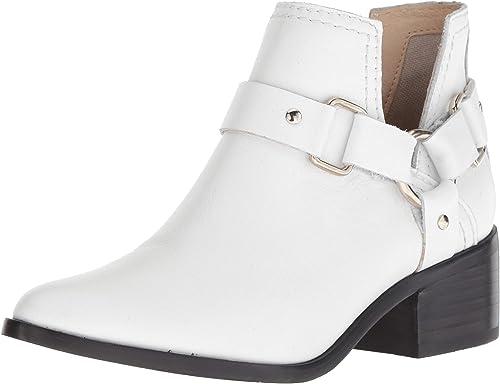 STEVEN by Steve Madden Femmes Bottes Couleur Blanc blanc Leather Taille 37 EU