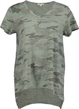 Camo Chic Boyfriend Short Sleeve T-Shirt