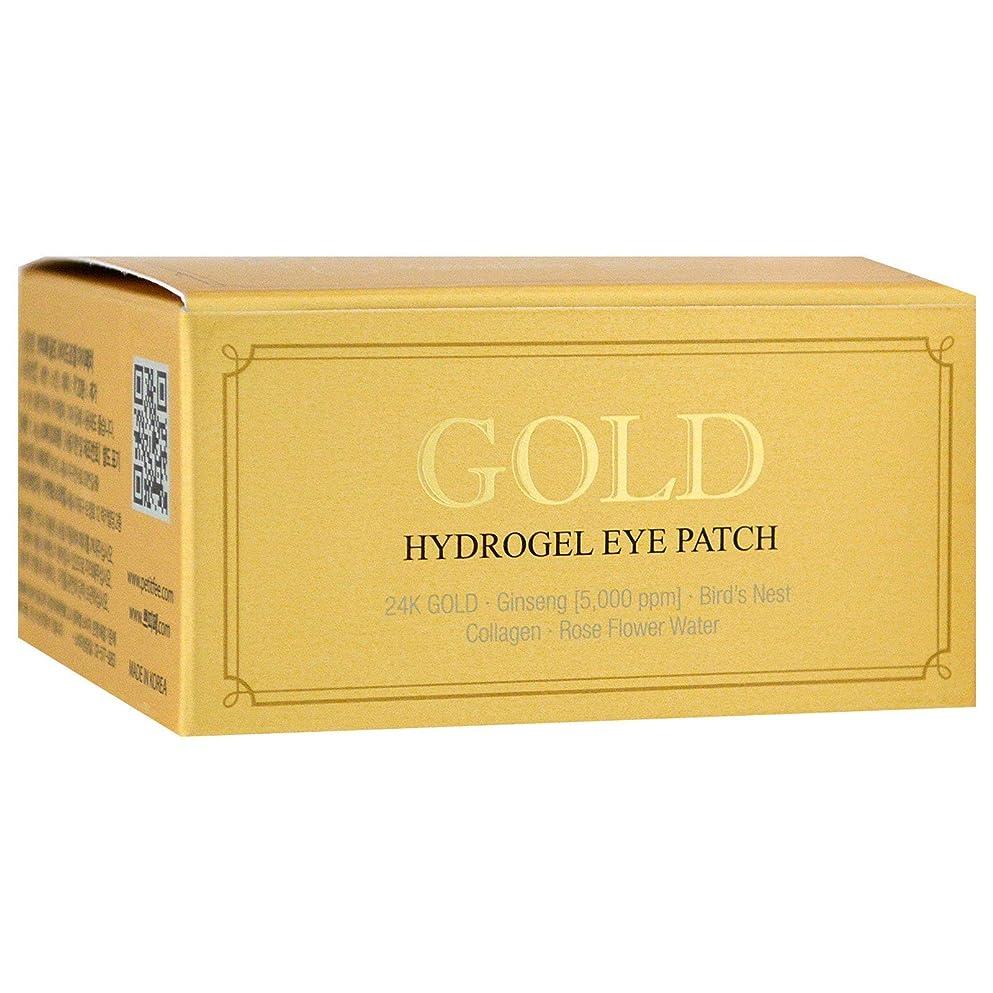 美徳ヒット渦PETITFEE Gold Hydrogel Eye Patch (並行輸入品)