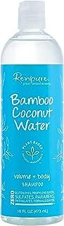 Renpure Bamboo Coconut Water Shampoo, 16 Ounces