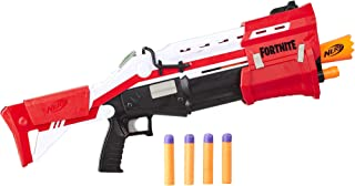 Fortnite TS-1 - Nerf Mega Blaster - Pump Action, 8 Official Nerf Fortnite Mega Darts, - Kids, Youth, Teens, Adults - Outdoor Toys & Games - Ages 8+