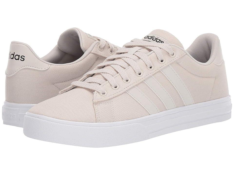 adidas Daily 2.0 (Raw White/Raw White/Core Black) Men's Skate Shoes