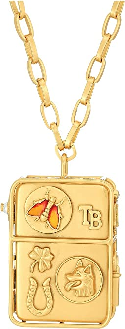 Tory Burch - Icon Pendant Necklace