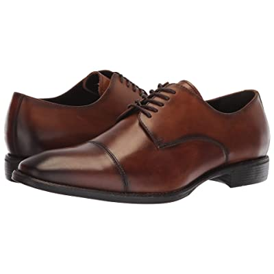Kenneth Cole Reaction Left Lace-Up (Cognac) Men