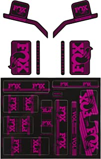 Fox Heritage Decal Kit for Forks and Shocks Pink