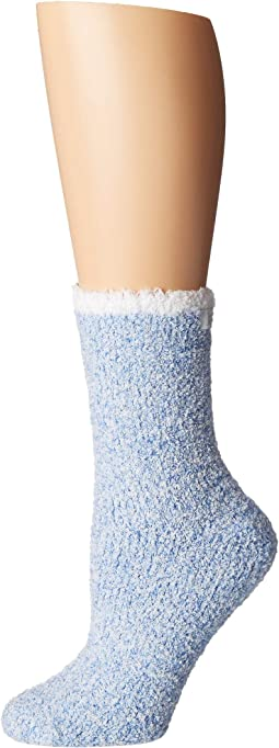 Chenille Heathered Solid Sock