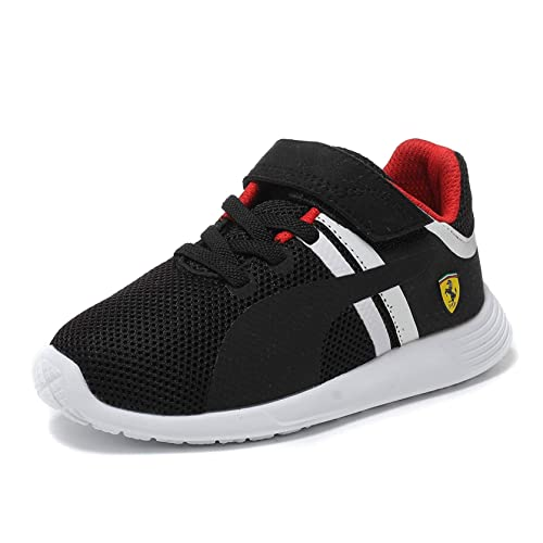 b9173e5985f Puma F116 SF Ferrari Kids Junior Boys Motorsports Casual Touch Fastening  Trainer Shoes