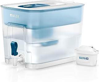 Brita Flow Optimax 8,2 l Filtre à Eau avec 1 Cartouche Maxtra + 1 Cartouche Bleue
