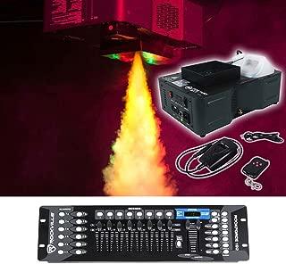 American DJ Fog Fury Jett Vertical Fog Machine+Wireless Remote+DMX Controller