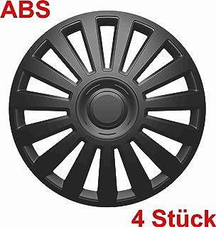Universal Radzierblende Radkappe schwarz 15 Zoll für viele Fahrzeuge passend