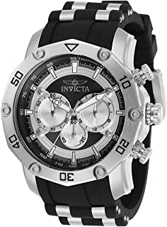 Invicta Men's Pro Diver Quartz Watch with Stainless Steel Strap, Two Tone, 26 (Model: 30028)