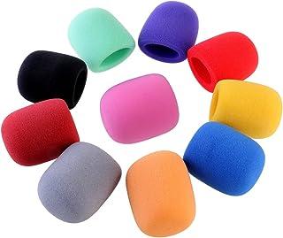 BESTOYARD Handheld Stage Microphone Windscreen Foam Cover 10 Colors