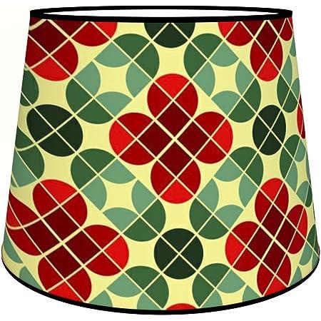 Abat-jours 7111309239701 Conique Circo Lampadaire, Tissus/PVC, Multicolore