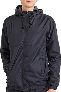 Mens Waterproof Windbreaker Rain Jacket Lightweight...