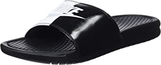 Nike Benassi JDI Men's Slides Black/Pure Platinum 343880-015