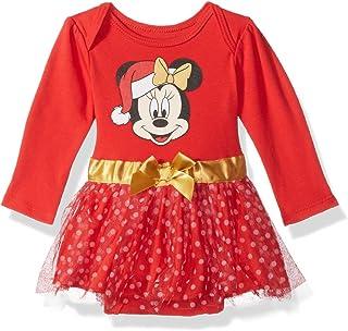 Disney para bebé Niña Minnie Mouse Día Festivo Body de Tutú