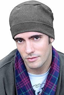 Mens Sleep Cap - 100% Cotton Night Cap for Men - Sleeping Hat