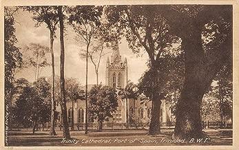 Trinidad B West Indies Port Of Spain Trinity Cathedral Antique Postcard K15101