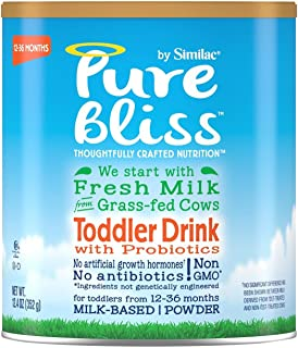 Similac Pure bliss by similac non-gmo toddler formula powder, 12.4 Ounce