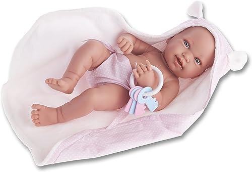 Antonio Juan Pfeife Neugeborenes, Puppe mit Handtuch