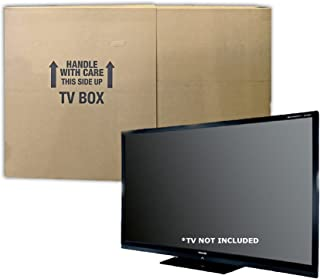 uBoxes TV Moving Box, Adjustable, Up to 70 inch, 6 inch Wide, 1 Pack (TVMOVEBOXES2)