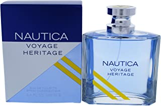 Nautica Nautica voyage heritage by nautica for men 3.4 Ounce eau de toilette spray, 3.4 Fl Ounce