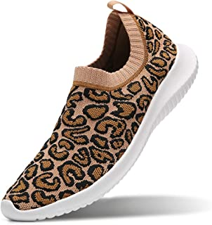 MATRIP Womens Comfort Elastic Sock Slip On Walking Shoes Lightweight Non-Slip(Size:5.5-11)