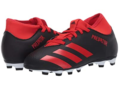 adidas Kids Predator 20.4 S FxG J Soccer (Little Kid/Big Kid) (Black/Active Red) Kids Shoes