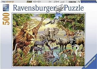 Ravensburger 14809 Majestic Watering Hole Jigsaw Puzzle (500 Piece)