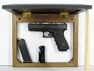 Hide a gun furniture, pistol storage spot, home defense accessory, wall mount firearm safe, picture frame concealment organizer, magnet dark