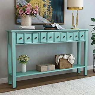 Console Table Rustic Entryway Table, 60