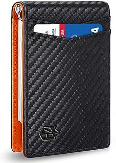 Sponsored Ad - Zitahli Mens Wallet with Money Clip Slim RFID Front Pocket Wallets for Men