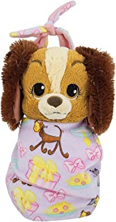 Disney Baby Lady Dog Puppy in a Pouch Blanket Plush Doll NEW Tramp