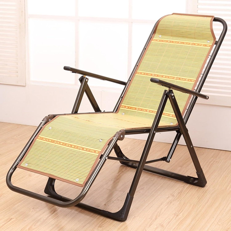 Lazy sofa LI LI LI Jing Shop - Liegestühle Haushalt Bambus Mittagspause einfach Mittagspause Büro Erwachsene Nap Bett Portable Beach Chair (Farbe   Square Tube Blau) B077ZWCJCH | Toy Story  83e2d8
