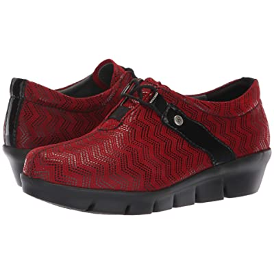 Wolky Muse (Dark Red) Women