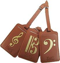 Music Office 旅行鞄 スーツケース ネームタグ 音楽モチーフ ミュージックギフト