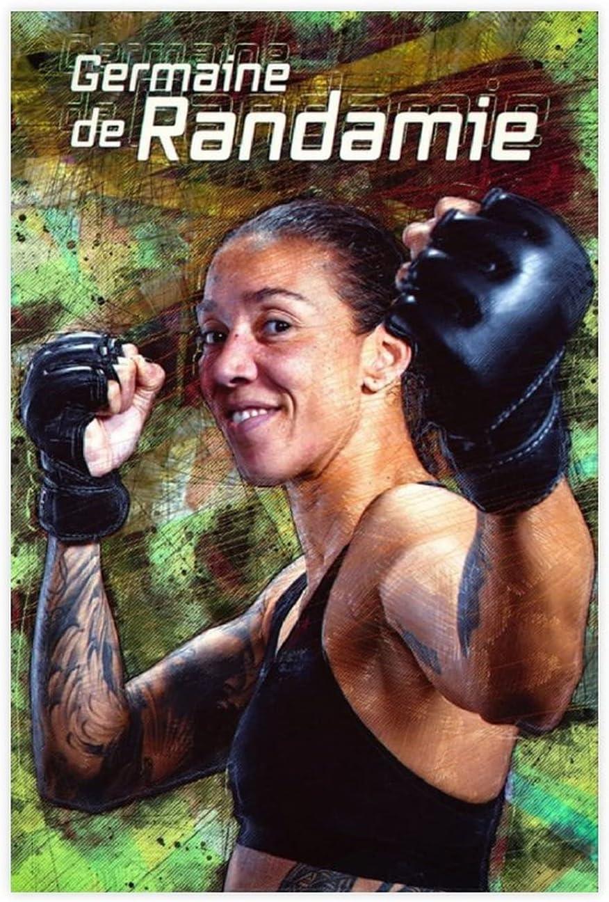 Limited price sale Boxing Sports Germaine De Bedroom Poster Randamie Canvas online shop