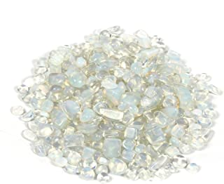Shiny Stone Decorative Stone, Gravel Rocks Crystal for DIY Home Garden Succulent Gifts Decoration (Artificial Circle Cryst...